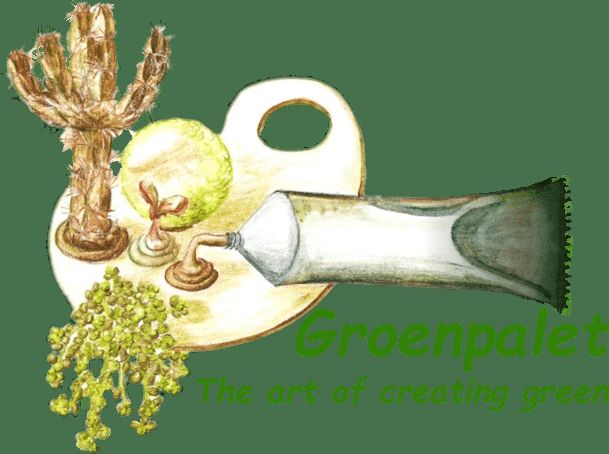 Groenpalet groendaken met sedums cactussen vaste planten